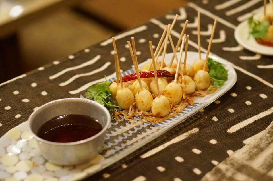 カイルーククイ/揚げ卵のタマリンドソース